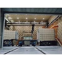 風洞無響室の写真