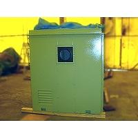 ターボブロワ用防音カバーの右側面