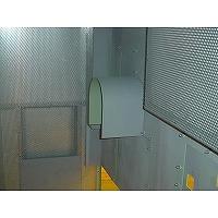 ターボブロワ用防音カバーのカップリングカバー内面