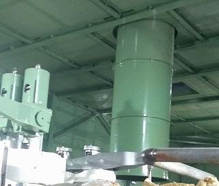 発電機用防音カバーのタービン蒸気主排気導管