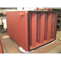 無響室空調用給気消音器