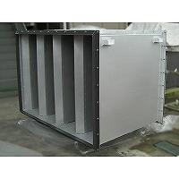 無響室空調用排気消音器