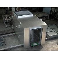 無響室換気・空調設備の分岐部消音器