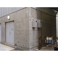 騒音対策後の機械室