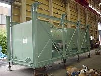 ガスタービン室換気排気消音器上面