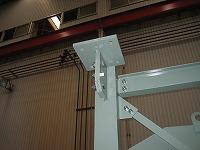 ガスタービン室換気排気消音器の架台