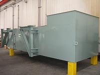 ガスタービン室換気吸気消音器