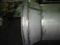 ベントスタック用サイレンサエレメント溶接部