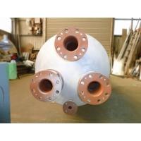蒸気安全弁消音器の4つのフランジ