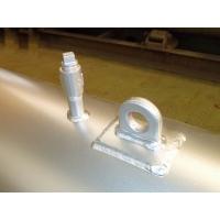減圧弁用消音器の4つのフランジ