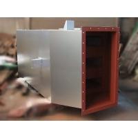 バグフィルタ用ファン排気消音器の全体写真