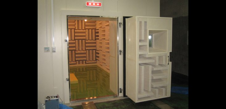 KST組み立て式無響室